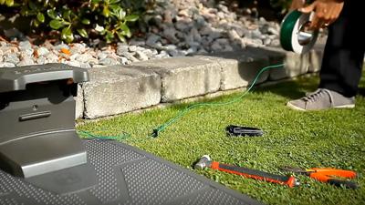 Husqvarna Automower, Cable delimitador