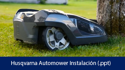 Husqvarna Automower Instalación .ppt