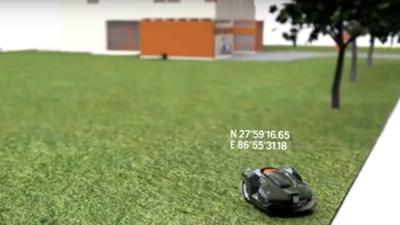 Husqvarna Automower®, sobre GPS