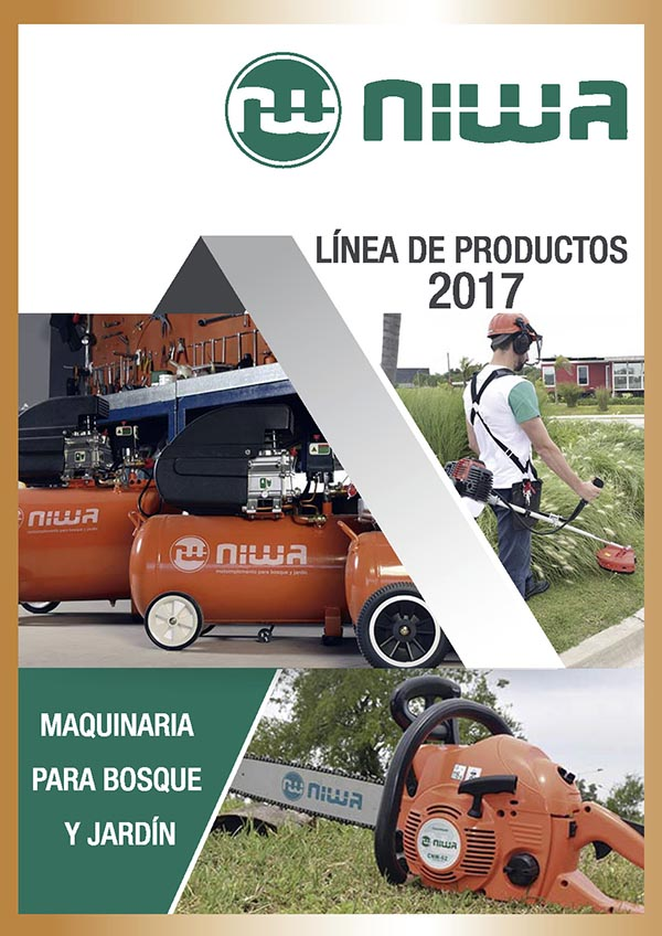 Catálogo Niwa Maquinaria para Bosque y Jardín 2017