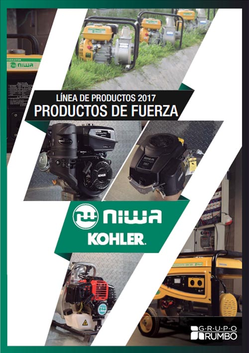 Catálogo Niwa Kohler 2017