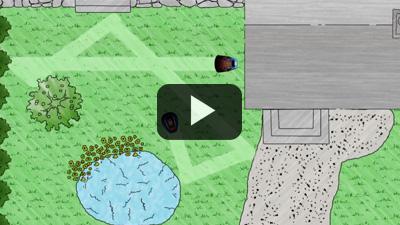 Robot Cortacésped GARDENA R40Li y R70Li. Vídeo de instalación 1 - FUNCIONAMIENTO GENERAL