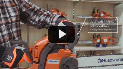 Trabajar con Motosierras- Elementos de seguridad de las motosierras - Video 1 de 2