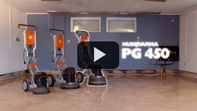 Pulidora Husqvarna PG 450